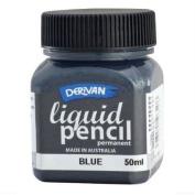 Liquid Pencil 50Ml Permanent Blue