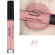 FEITONG Sexy Lipstick, Miss Young Liquid Lipstick Moisturiser Velvet Lipstick Cosmetic Beauty Makeup