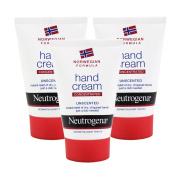 3x Neutrogena Norwegian Formula Concentrated Hand Cream 50ml