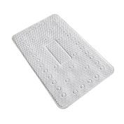 MagiDeal Outdoor or Indoor Bath Kitchen Floor Mats Bedroom Carpet Non-Slip Rug Door Mat Various Types - White, as described