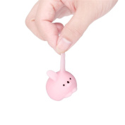 Jumbo Squishy Mini Fat Rabbit Healing Squeeze Abreact Fun Joke Gift Rising Toy Pink - Great Soft Toys gift for Kids & Adults Kawaii Squishy Sensory Play Stress Relief Toy For Autism ADHD ADD OCD
