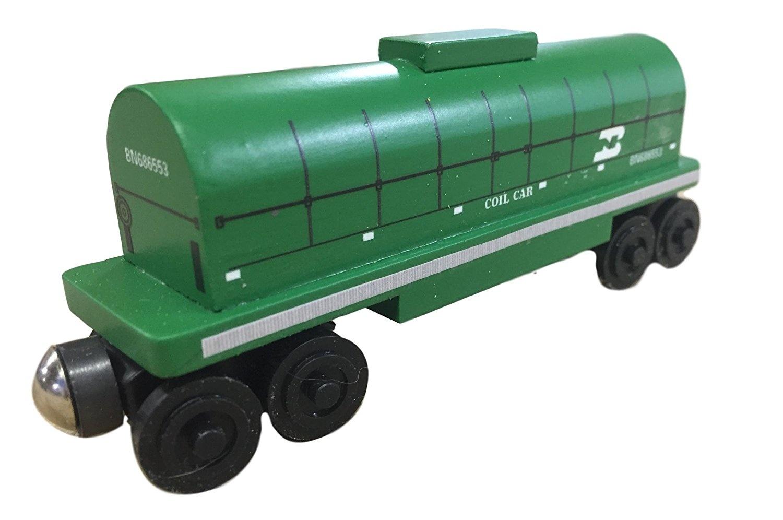 Burlington Northern Coil Car Toy Train By Whittle Shortline Railroad