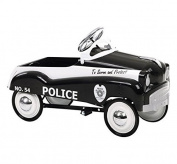 InSTEP Retro Police Pedal Car Ride On - PC200