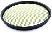 Plastic Round Soba Noodle Buckwheat Udon Serving Plate 22cm Removable Mat