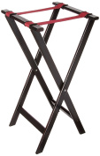 New Star 20021 Mahogany Finish Solid Wooden Tray Stand, 80cm , Brown