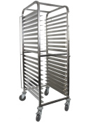 Front-Load Knock Down Bakery Rack All Stainless Steel, for Full Size Sheet Pans
