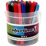 Colortime Marker, 5 mm line, asstd colours, 42asstd