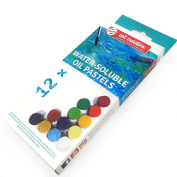 Royal Talens - Art Creation Water-Soluble Oil Pastels - Pack of 12