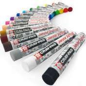 Sakura Cray-Pas Junior Artist Oil Pastels – Pack of 16 – 8mm x 60.8mm - XEP16