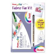 Pentel Arts Fabric Fun Kit, Pastel Dye Sticks (PTS15BNABP) by Pentel