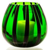 The Merchant of Venice Scented Lantern Muranoglass Laterna Mirtillo-Verde + 4 scented Tealight Candles