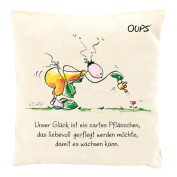 Herbs scented pillow scent cuddler with a lovely message by Oups