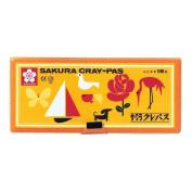 16-colour Sakura Colour pastel crayon Futoshimaki (Soft Case)
