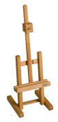 """Paint Or Display H Frame Table Easel From Mabef M/41cm High Quality Oiled Beech Wood """""""