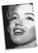 MARILYN MONROE - ACEO Sketch Card (Signed by the Artist) #js010