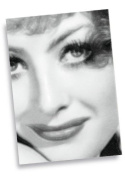 JOAN CRAWFORD - ACEO Sketch Card (Signed by the Artist) #js003