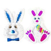 FLOMO Easter Bunny Tinsel Decoration
