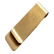 Kanggest Money Clip Portable Cash Clamp Stainless Steel or Brass Bill Notes Clip Vintage Credit Card Wallet Holder