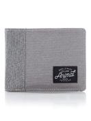 Animal Provoked 2 Leaf Wallet - Grey
