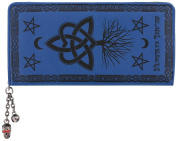 Banned Last Hope Of Misery Wallet Blue 18.5x9.5x3cm