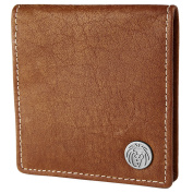 Oxford Tan Leather Coin Wallet