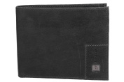 Wallet man LOTTO grey in leather with flap and coin purse VA1091
