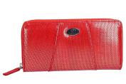 Wallet woman CHARRO red model compact with zip VA2068