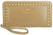 Wallet woman CHARRO beige model compact with zip VA2064