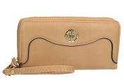 Wallet woman CHARRO beige model compact with zip VA2079