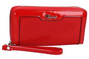 Wallet woman CHARRO red model compact with zip VA2077