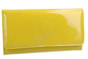 Wallet woman CHARRO yellow model bellows opening button VA2070