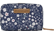Ditsy Flower Wallet/Purse. Navy Blue