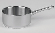 """""""Crystal"""" Saucepan Stainless Steel Size"""