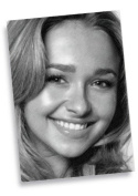 HAYDEN PANETTIERE - ACEO Sketch Card (Signed by the Artist) #js007