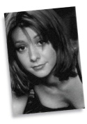 ALYSON HANNIGAN - ACEO Sketch Card (Signed by the Artist) #js007