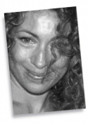 ALEX KINGSTON - ACEO Sketch Card (Signed by the Artist) #js005