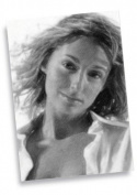 ALI BASTIAN - ACEO Sketch Card (Signed by the Artist) #js003