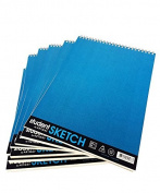 Artway Student Wirebound Sketchbook with 130gsm Mid-White Paper - 30 Pages (Wholesale Pack) - 70 x A4