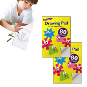 A4 Sketching Drawing Pad- Artist Kids Craft Book- Portrait Layout-80 Sheets