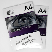 135gsm Cartridge Paper/2 Packs of 60 pages