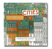 Steve McDonald's Fantastic Cities Colouring Book