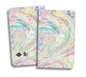 Denik Ice Cream Swirl Notebook 13cm X 21cm