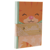 Cute Ginger Kitten Lined A6 Notebook