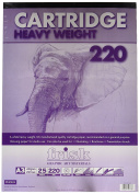 Frisk 220 gm Heavy Weight Cartridge A3 25 Sheets Pad, White