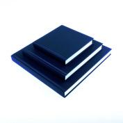 SEAWHITE Black Cloth Hardback Artists Sketchbook 140gsm Square 140x140