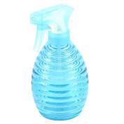 Plastic Hairdressing Garden Flowers Plant Trigger Spray Bottle Blue 400ml