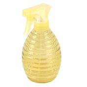 Plastic Hairdressing Garden Flowers Plant Trigger Spray Bottle Yellow 400ml
