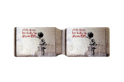 Mr Brainwash You're Never Too Young Dream Big Oyster Card Holder