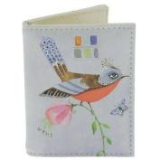 Travel Card Holder - Santoro's Watercolour Birds