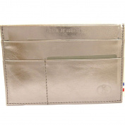 Leather door car papers 'Frandi' steel grey (slim).